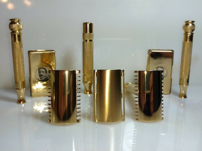 Gillette Gold Plated Razors